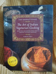 The Art of Indian Vegetarian Cooking, second edition reprint